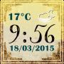 icon Vintage Clock Weather