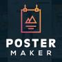 icon Poster Maker - Flyer Maker, Poster Designer App