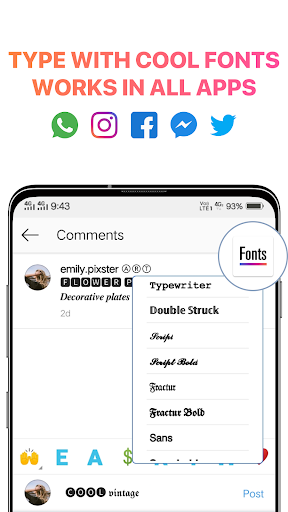 Cool Fonts For Instagram Bio Für Huawei Mate 10