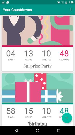 Countdown von timeanddate.com