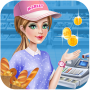 icon Supermarket Girl Shopping