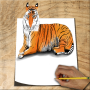 icon How to Draw Animals 3D
