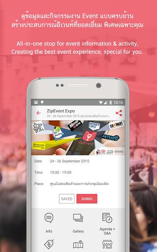 ZipEvent - Veranstaltungen in der Tasche