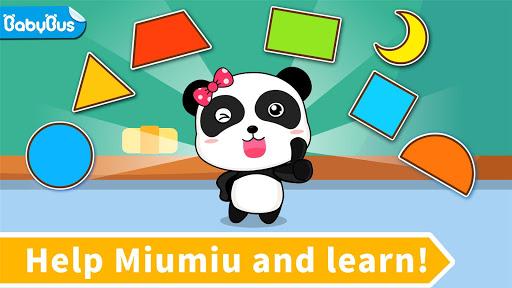 Baby Panda lernt Formen