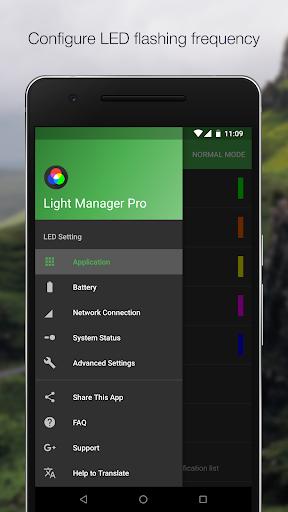 Lichtmanager - LED-Einstellungen